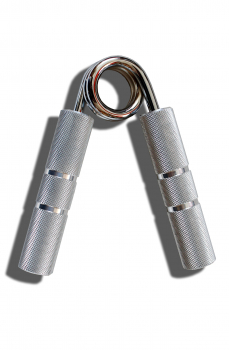 Aluminium handgripper with chrome spring