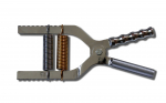 ADJUSTABLE HANDGRIPPER – CHROME – WITH ANATOMIC GRIP